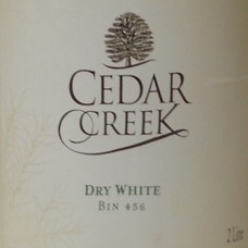 Cedar Creek Dry White Bin 456 - 2 Liter