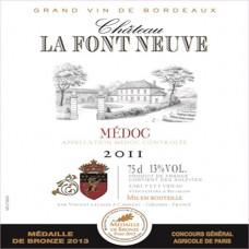 Château La Font Neuve Médoc 2011