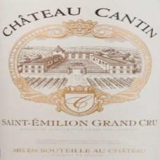 Château Cantin Saint-Émilion Grand Cru 2014