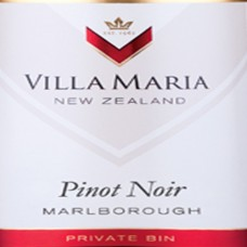 Villa Maria Private Bin Pinot Noir Marlborough 2015